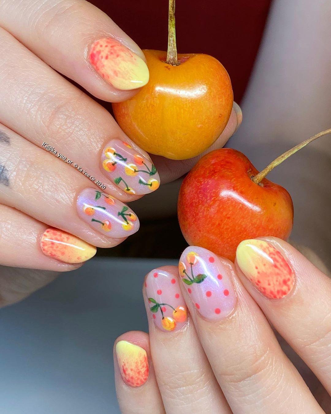 unghie frutta e verdura
