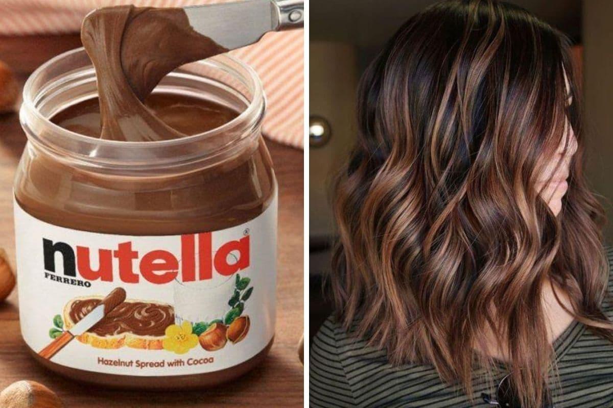 Nutella sui capelli