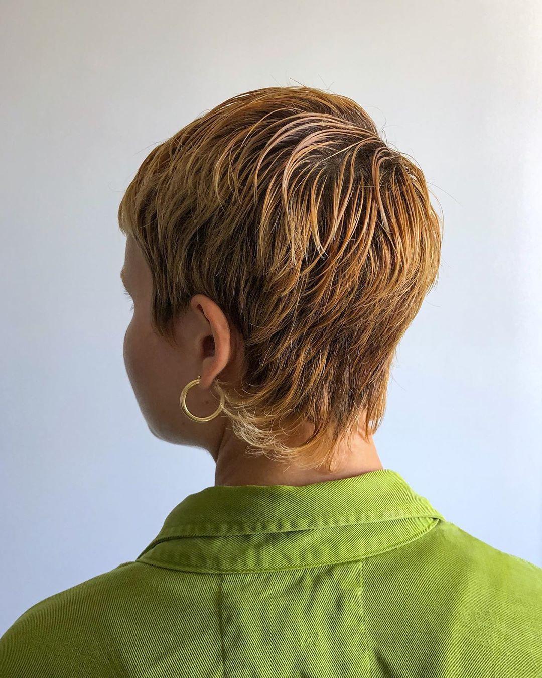 capelli effetto bagnato
