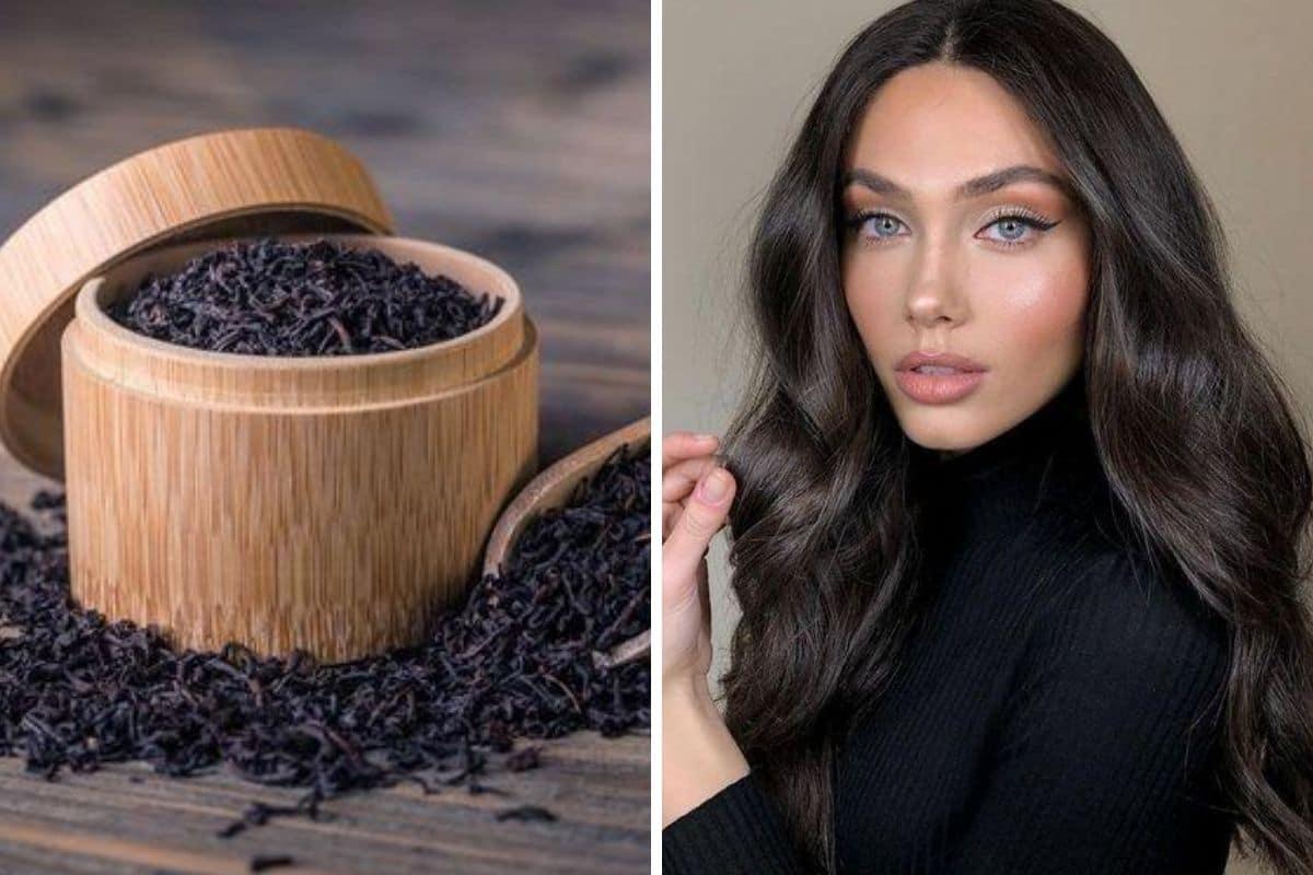 tè nero capelli bianchi