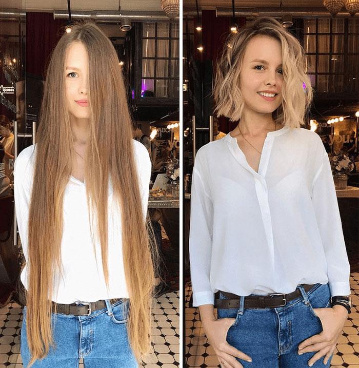 trasformazione capelli