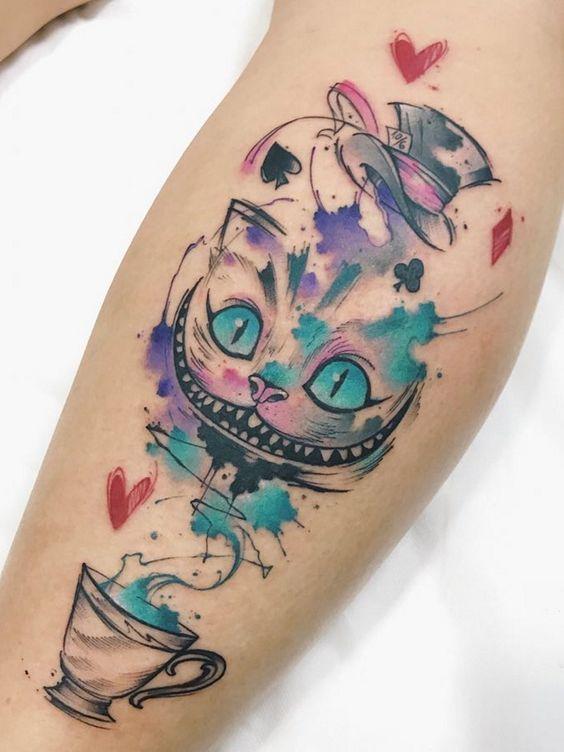 stregatto tatuaggio