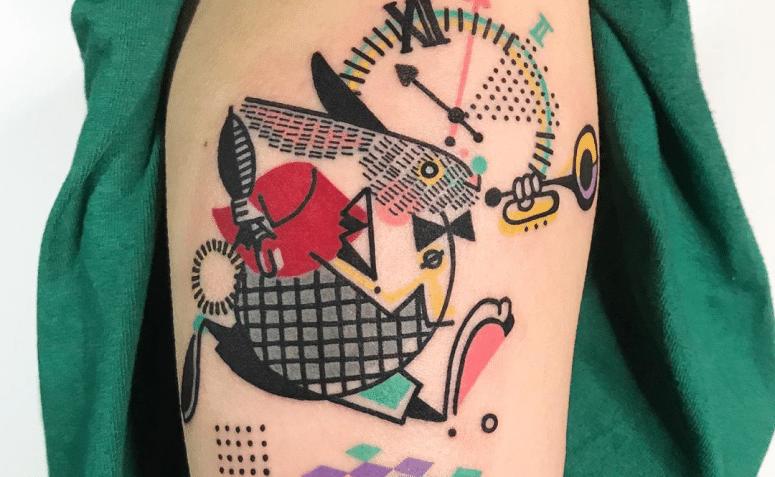 bianconiglio tatuaggio
