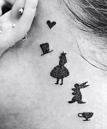 alice tatuaggio