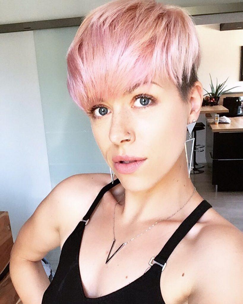 lisci corti rosa