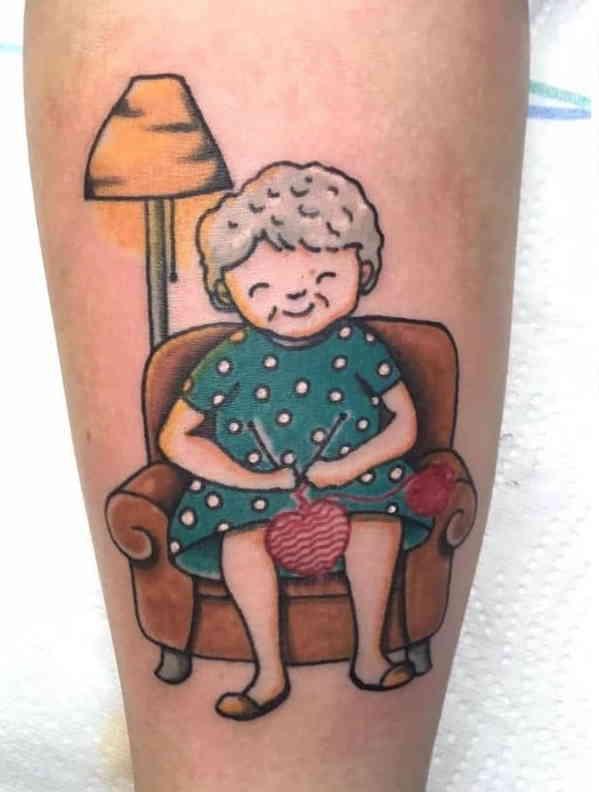tatoo nonni