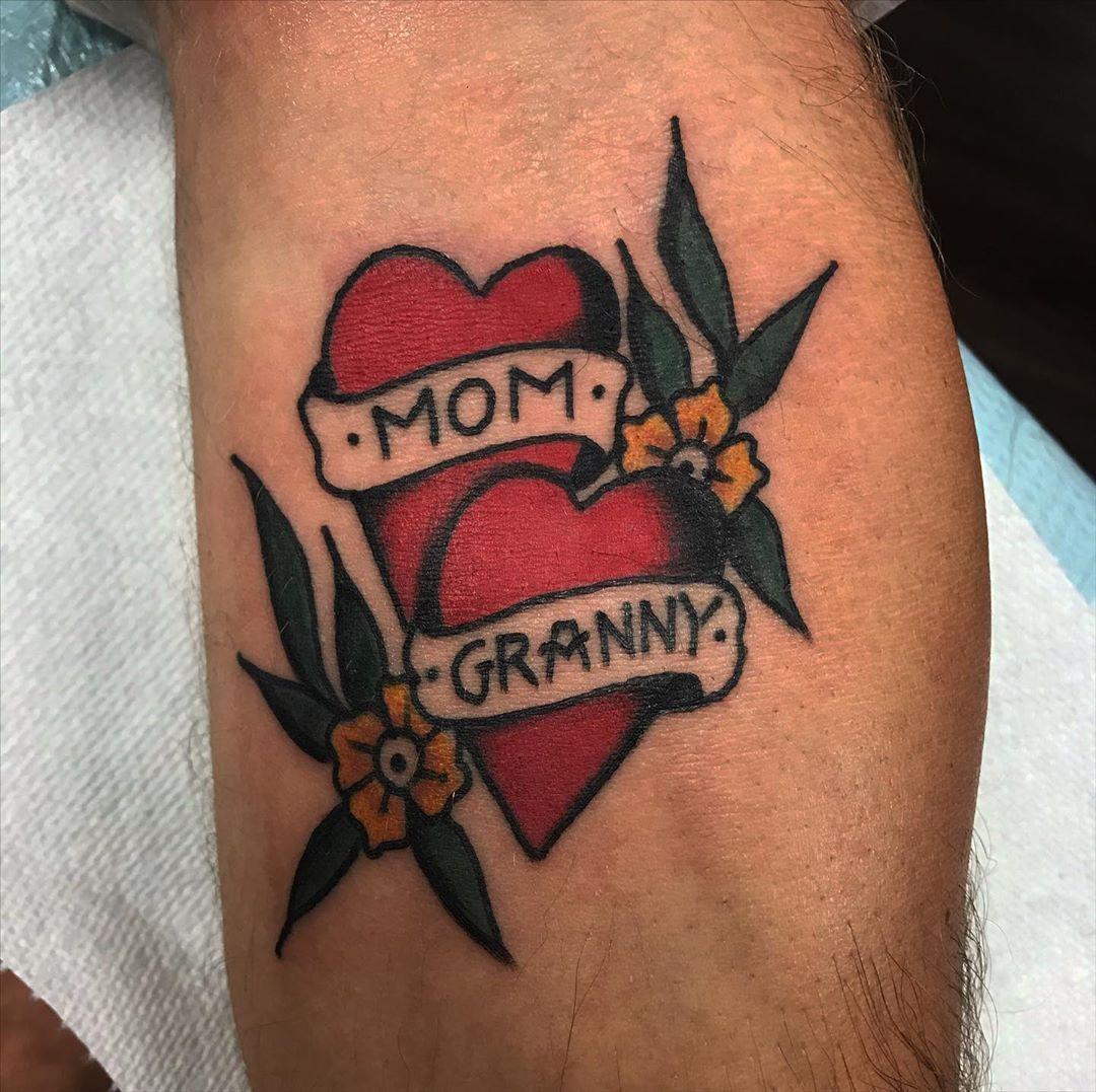 tatuaggio mamma nonna