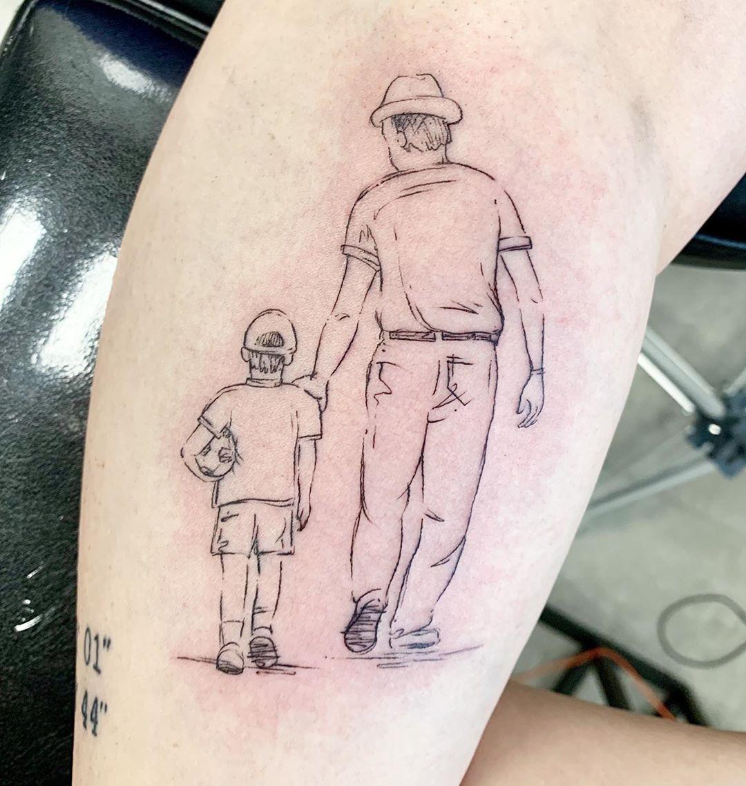 tatuaggio nonno