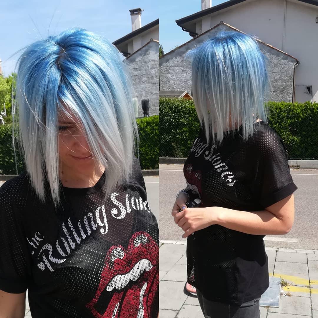 azzurri medi lisci