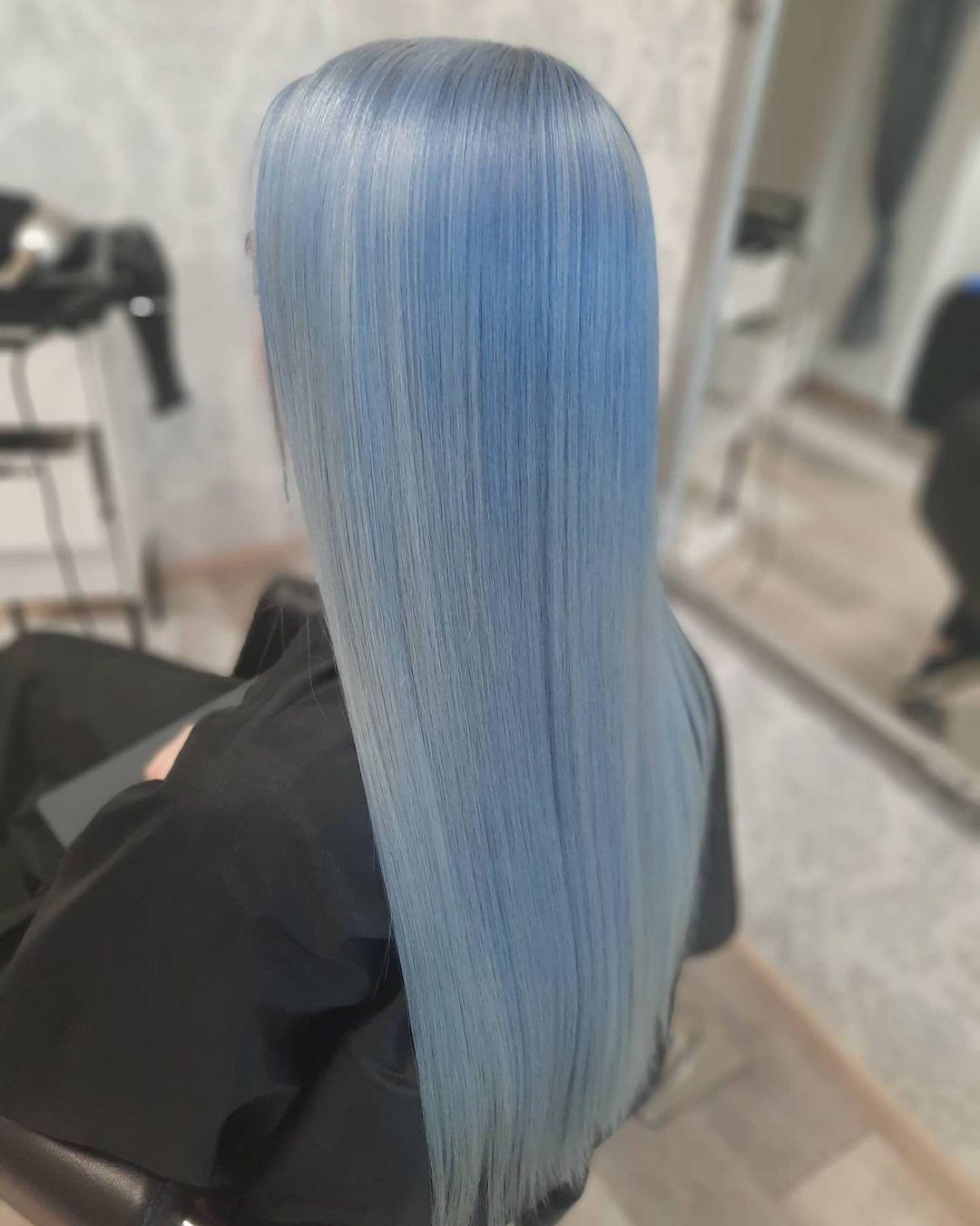 lisci lunghi azzurri