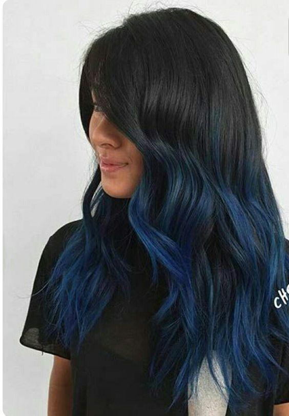 mossi lunghi neri blu