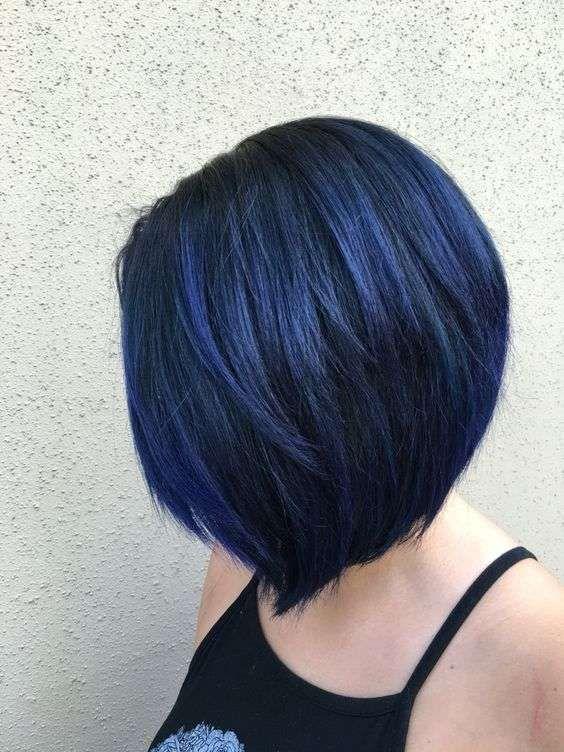 medi lisci blu