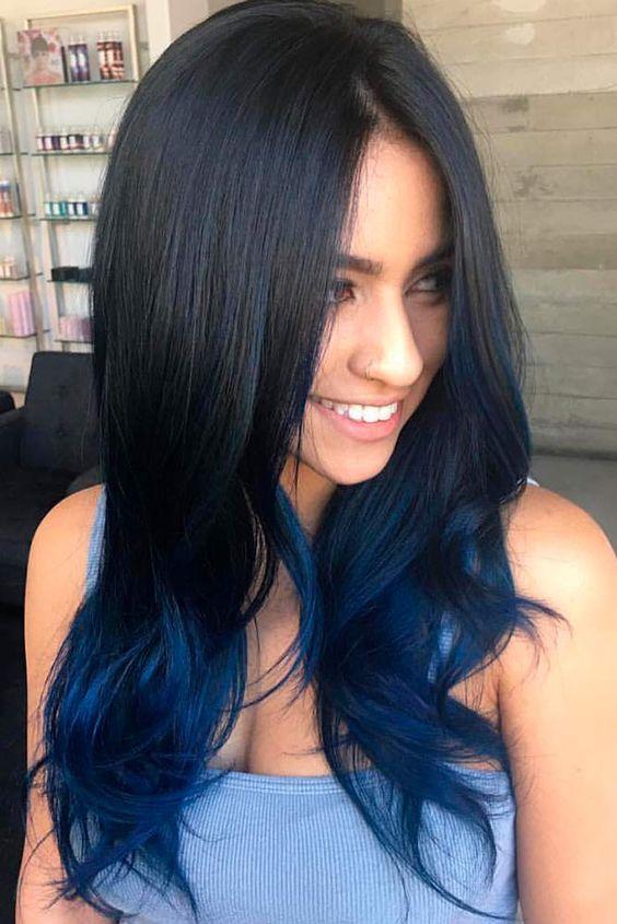 lunghi mossi neri blu