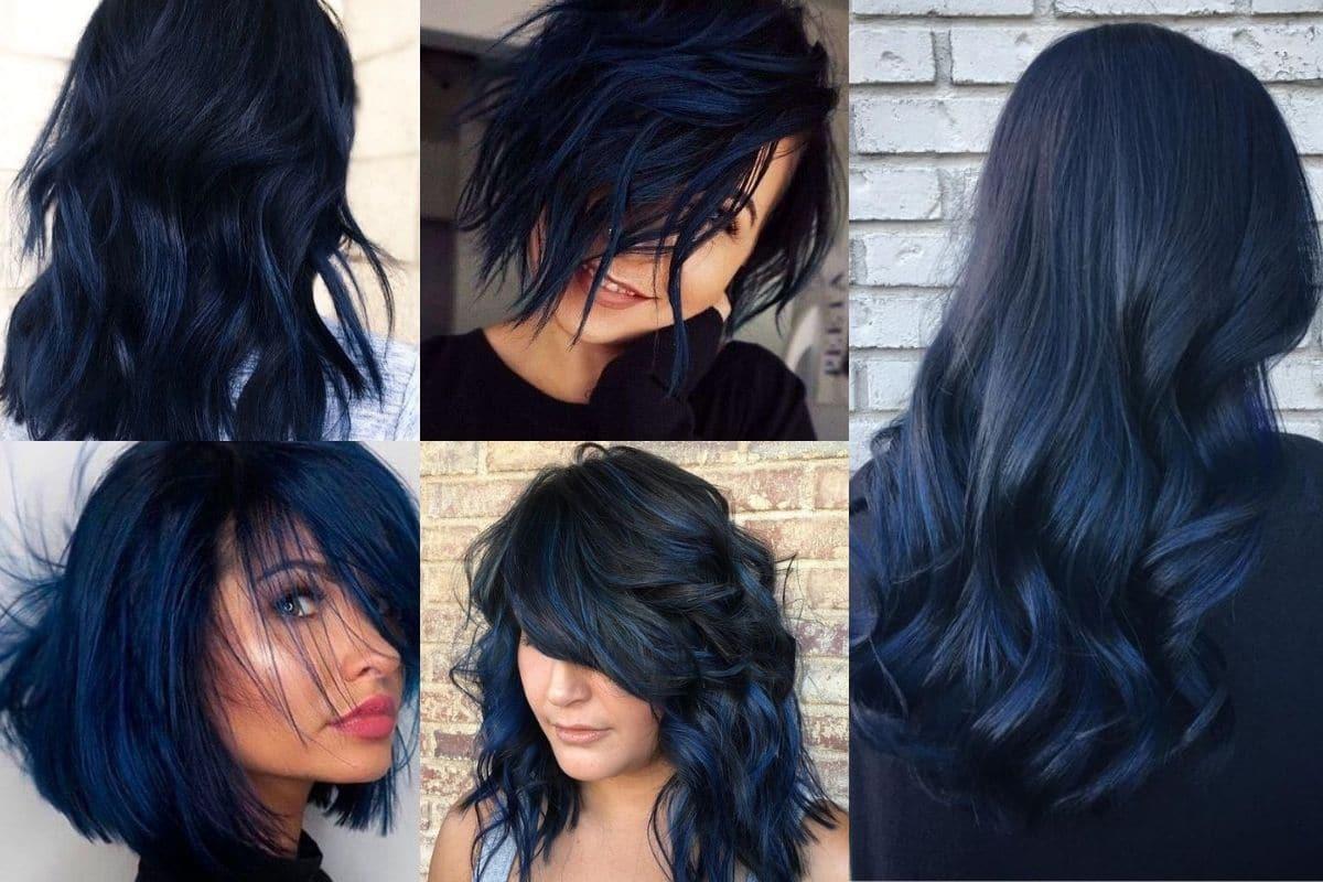 capelli nero blu