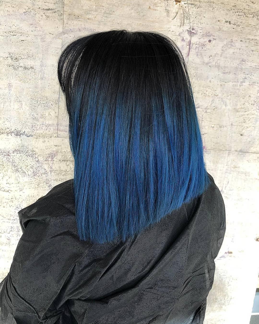 medi lisci blu neri