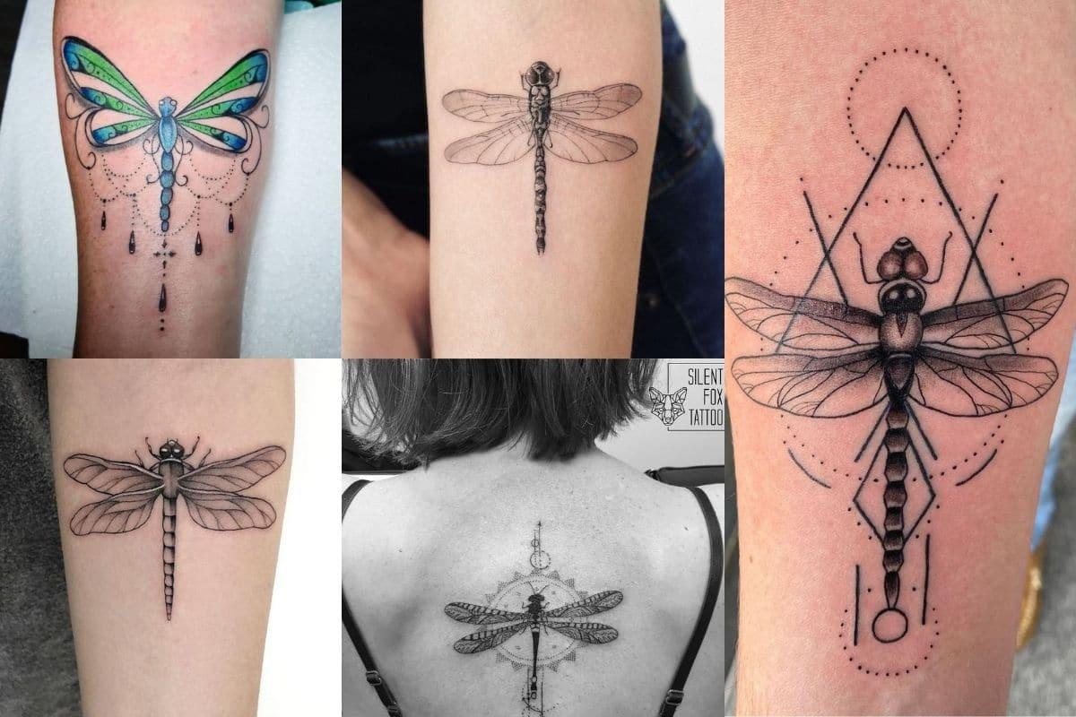 tatuaggio libellula