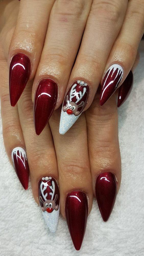 nail art natale