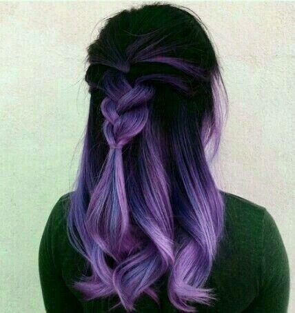neri viola mossi lunghi