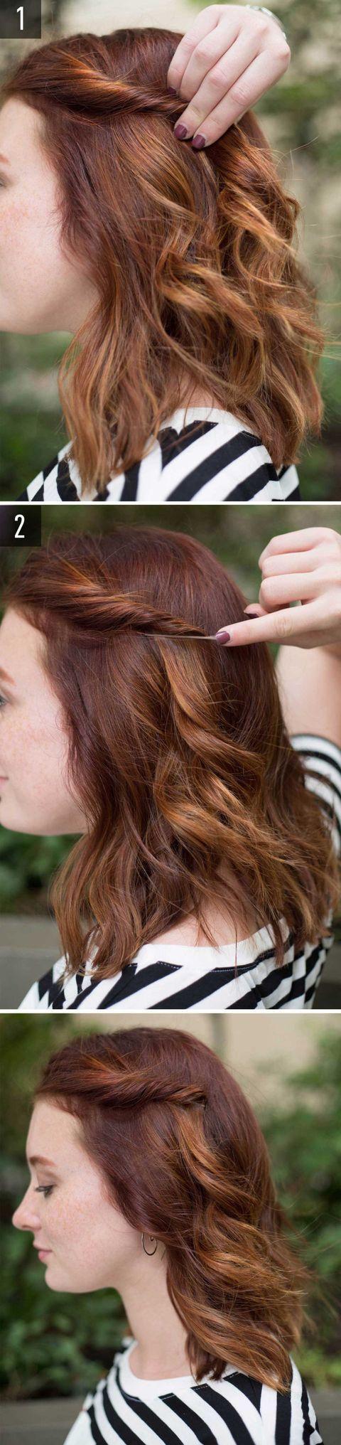 torchon capelli ricci