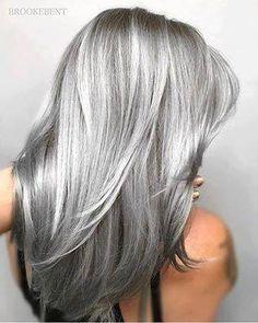 grigi lunghi lisci