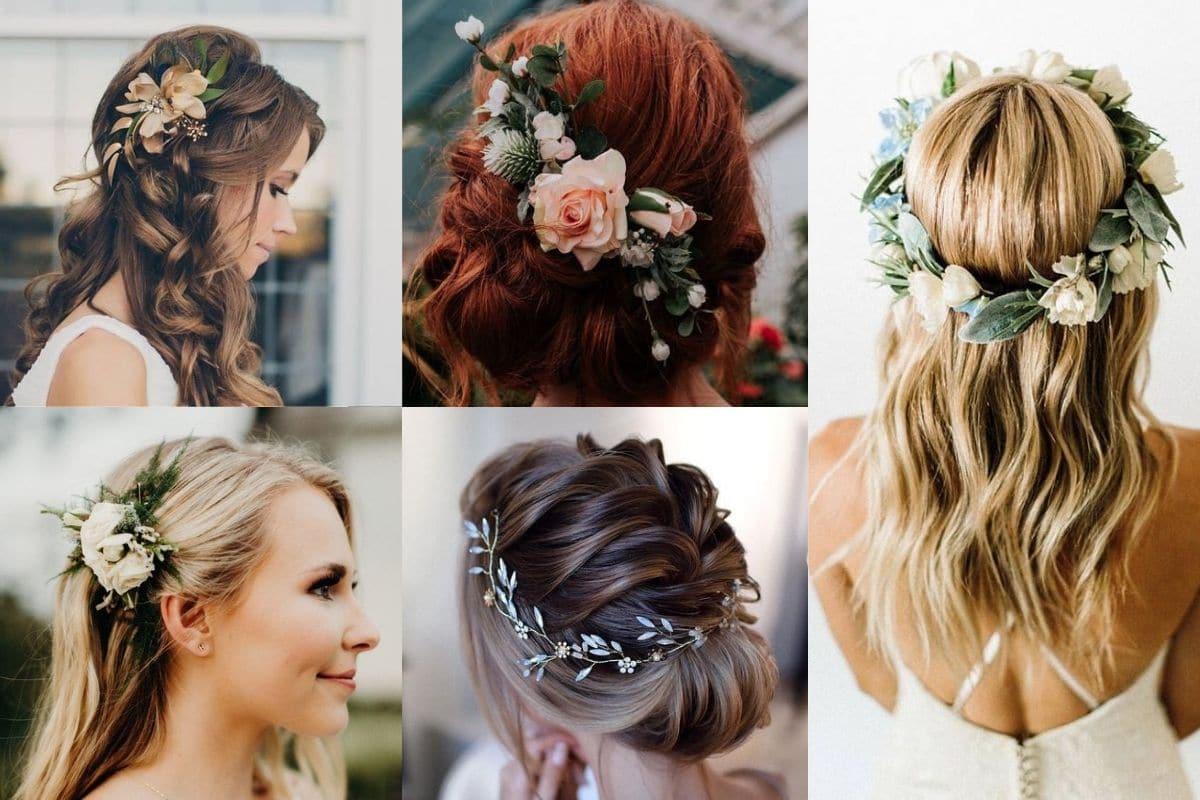 fiori capelli acconciature