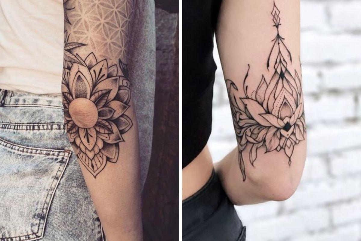 tatuaggio gomito