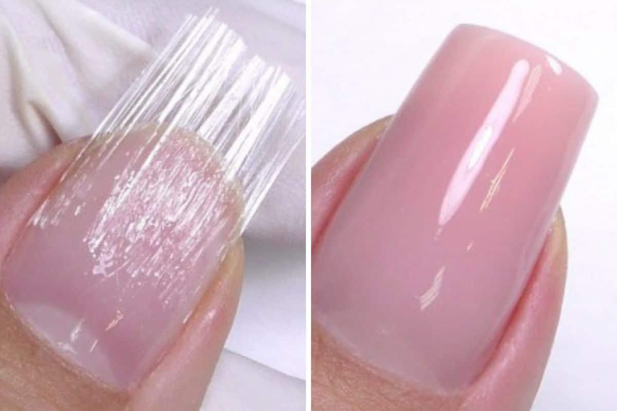 unghie fibra di vetro