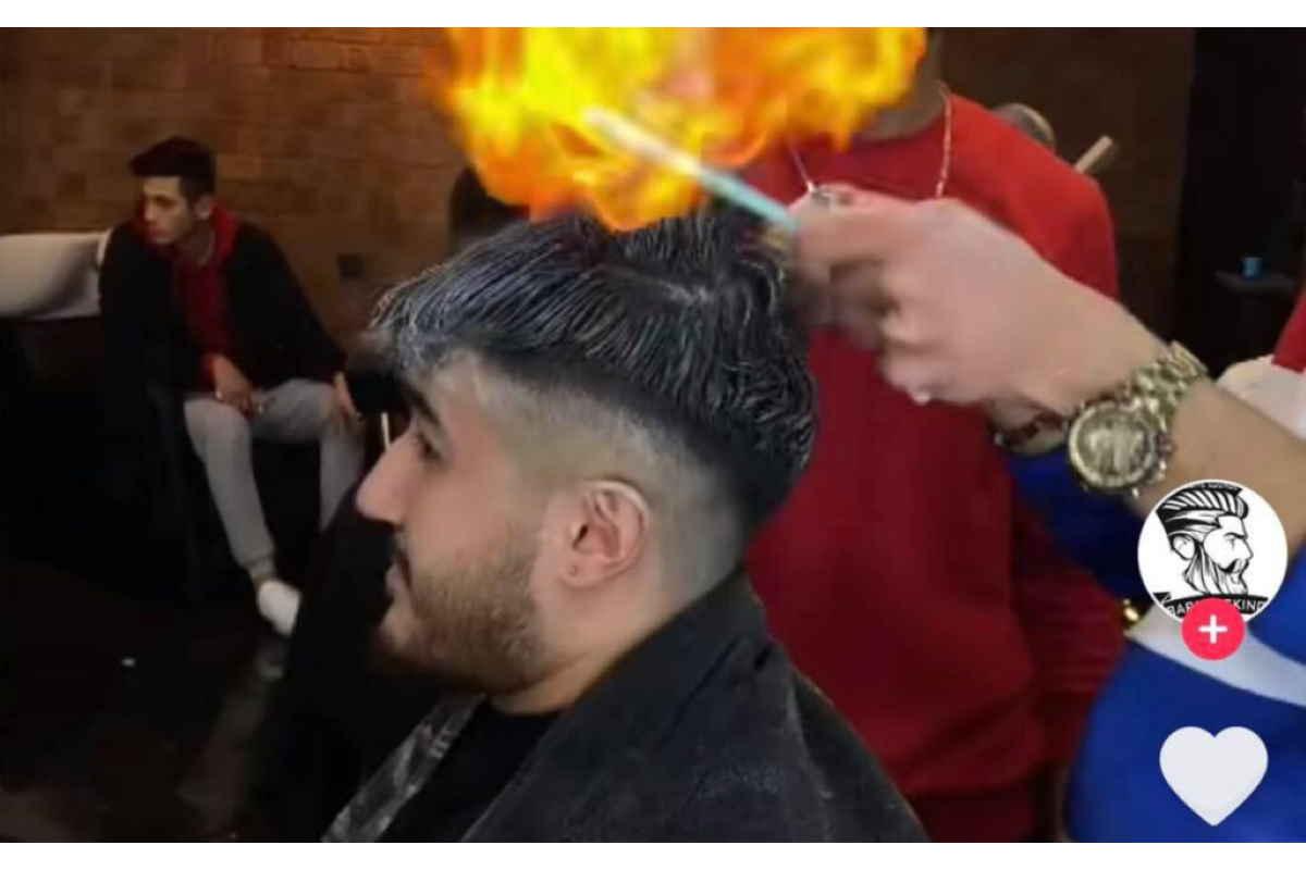 Barbersking capelli fuoco
