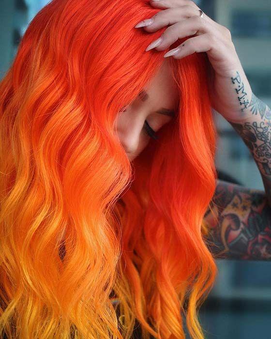 arancioni mossi lunghi