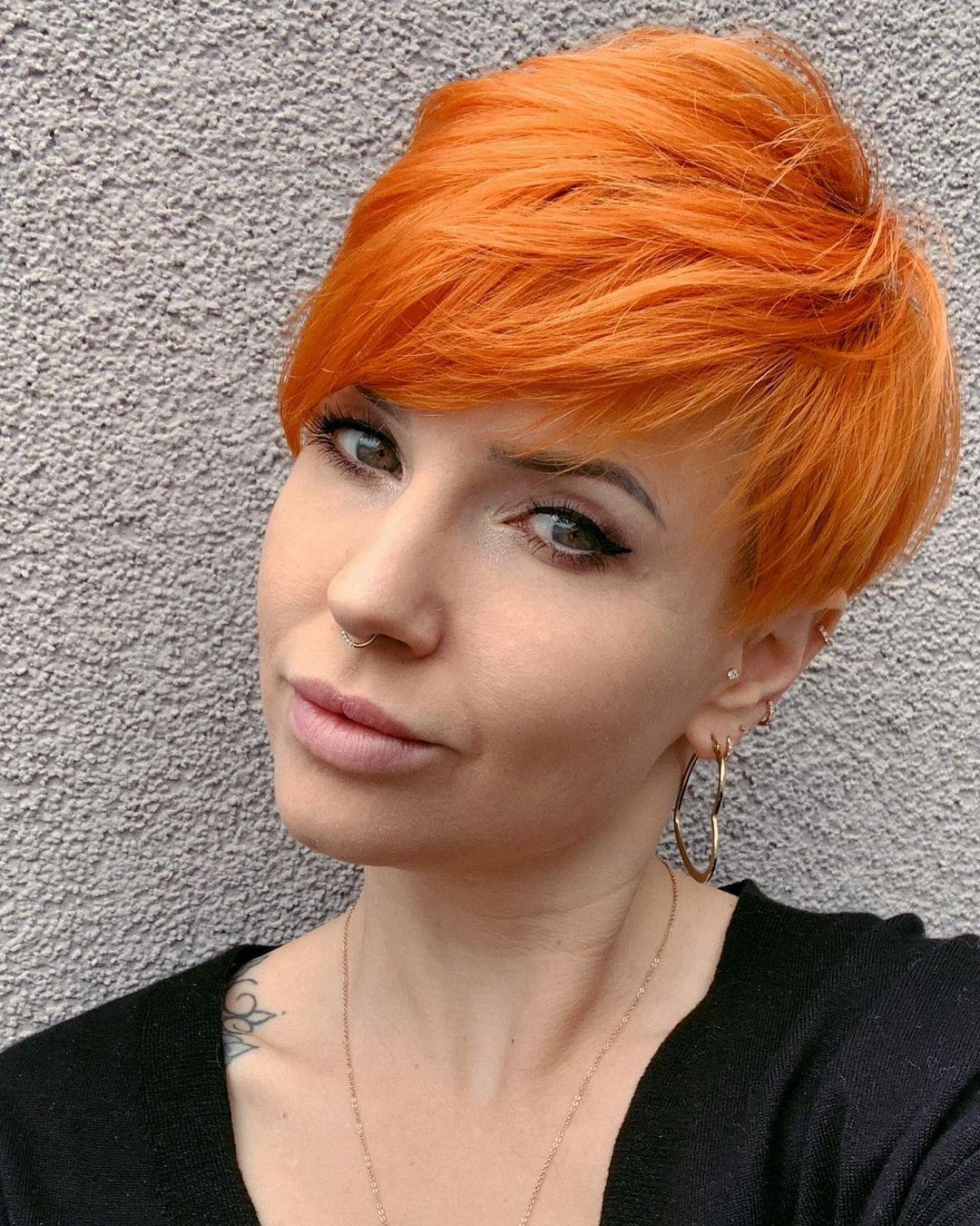 arancioni corti lisci