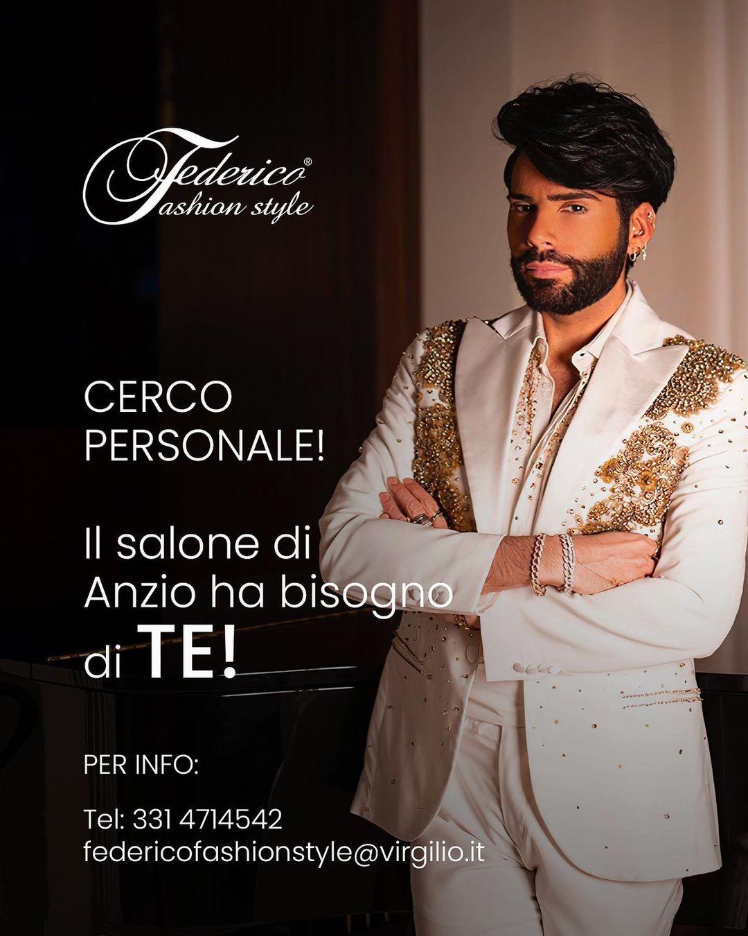 federico fashion style salone anzio