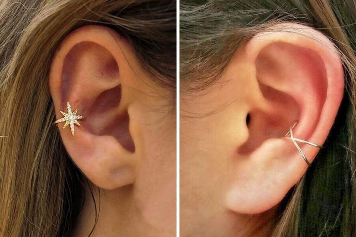 piercing ear cuff
