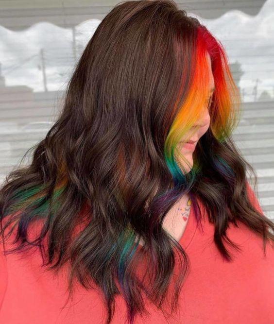 capelli arcobaleno