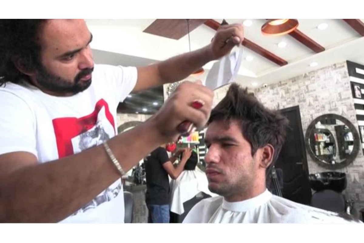parrucchiere pakistano