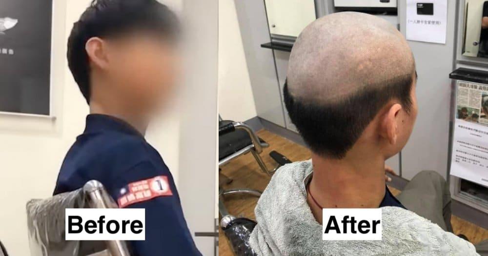 covid taglio capelli madre figlio